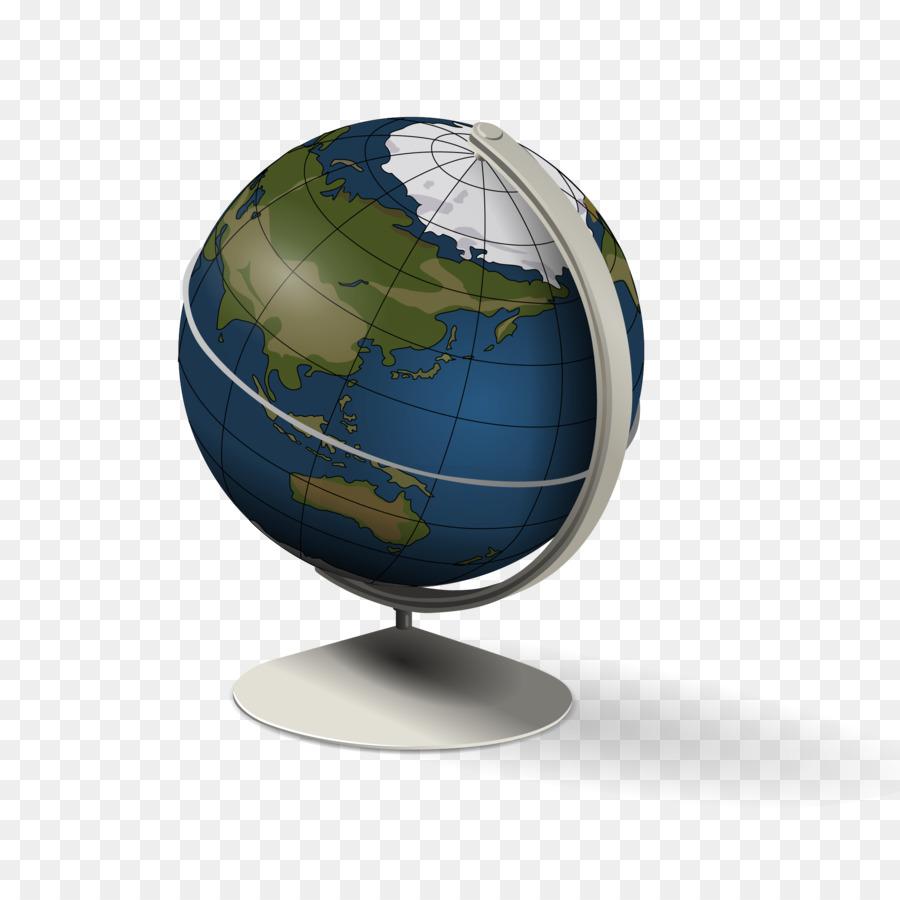 Гифка глобус без фона