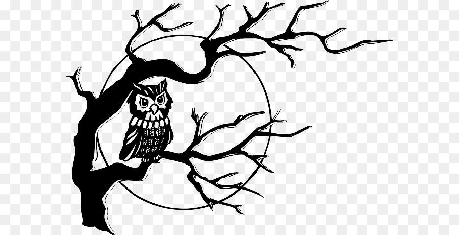 пусть рисунок сова на ветке дерева постарались скрыть
