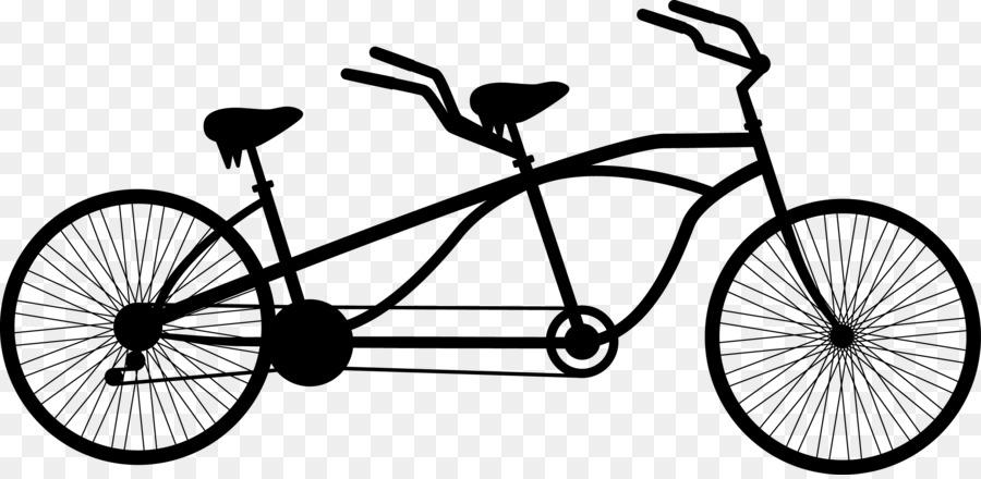 Картинка двухместный велосипед