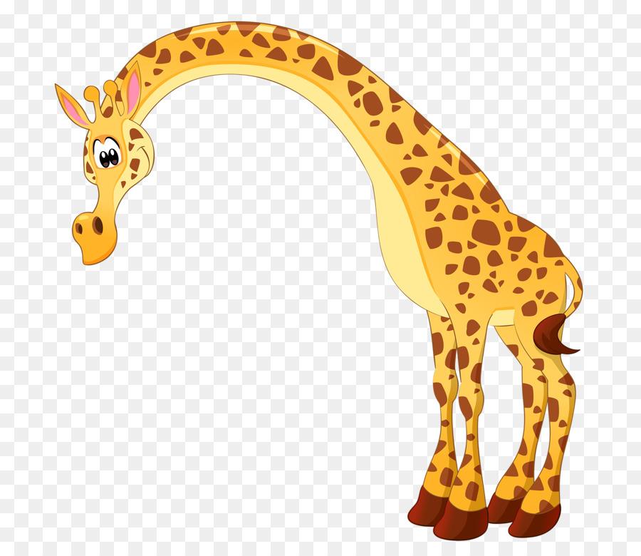 Картинка жираф мультяшный
