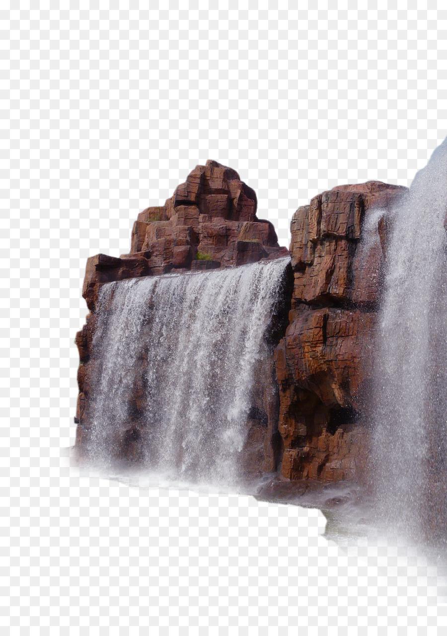 Картинки прозрачные водопады