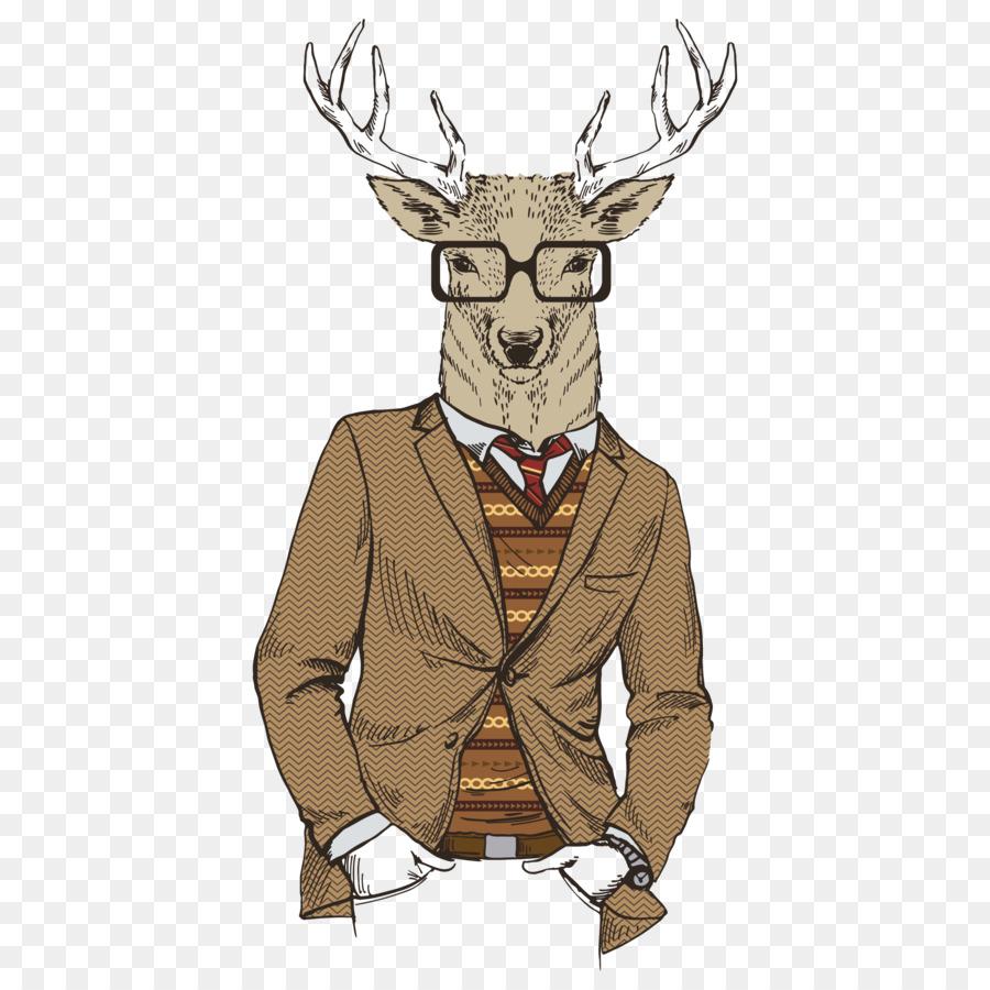 картинка олень в очках умудрилась