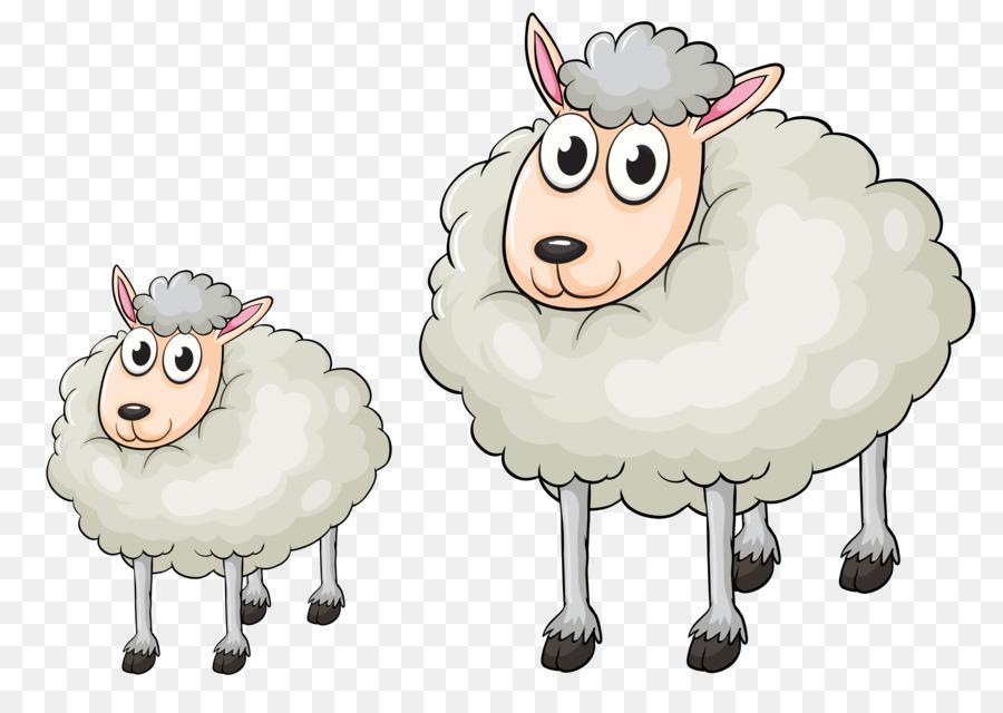 Овца из мультика картинка