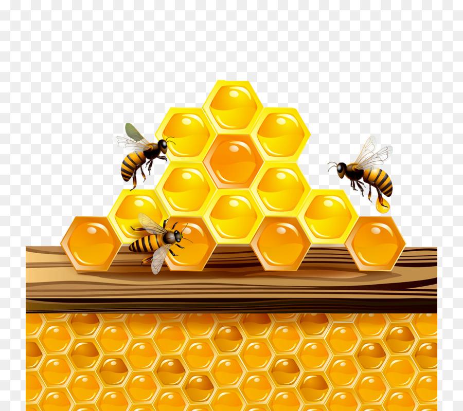 цвет картинка соты с пчелами бомбит обменами разгружает