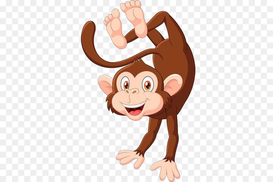 Картинка обезьянка для детей на белом фоне