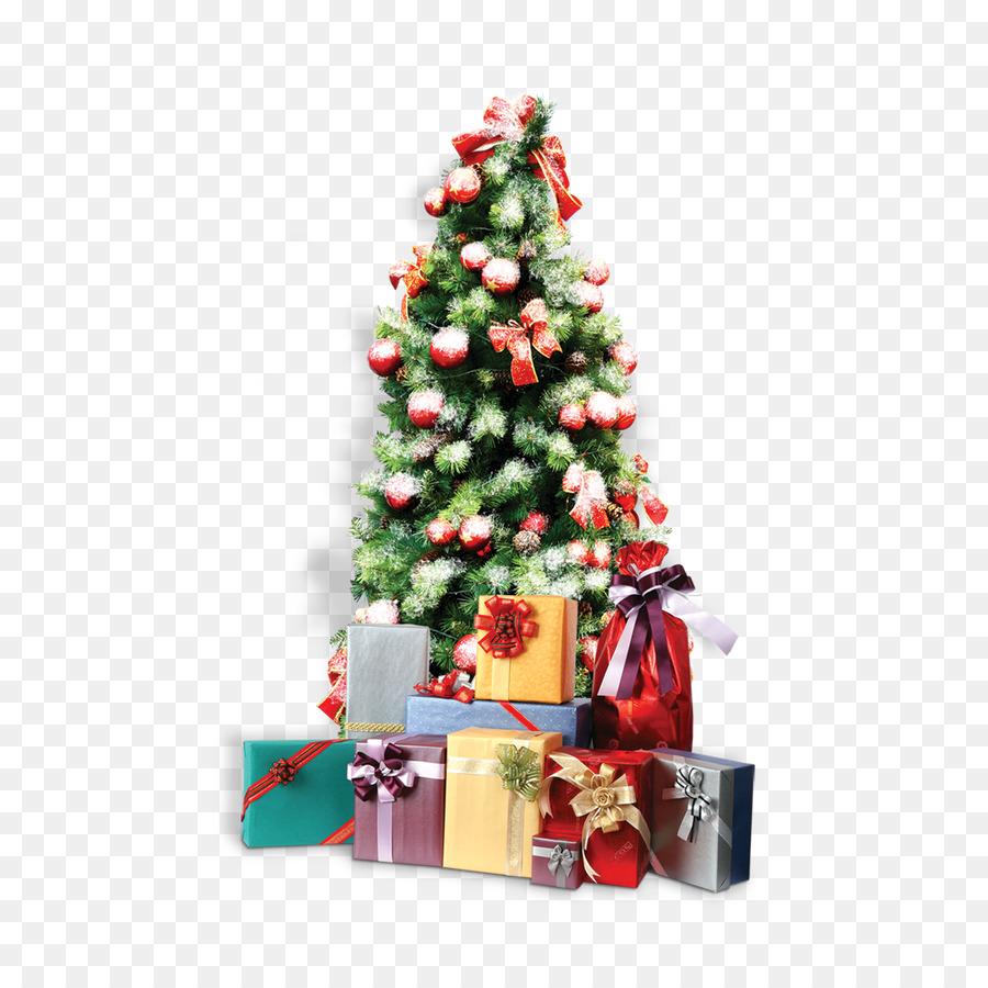 подарки под елку картинки пнг