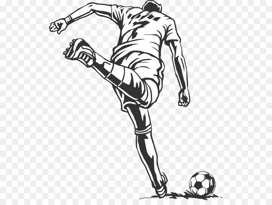 Черно белые картинки о футболе