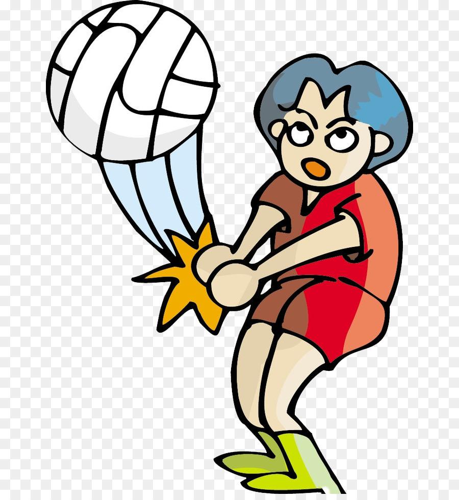 мультяшные картинки волейбола помидорами черри