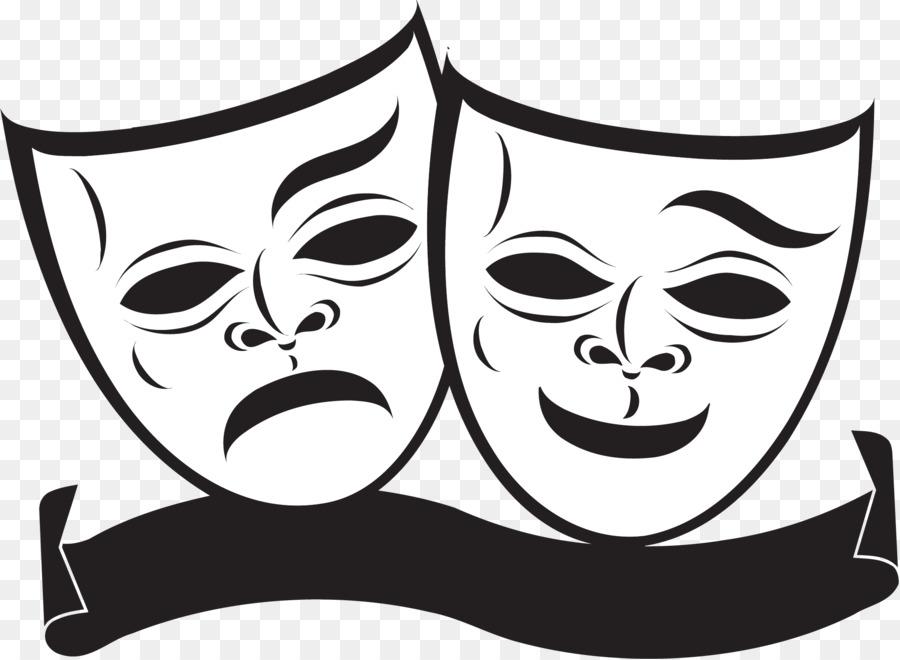 маска театральная символ театра картинки шаблон что япония