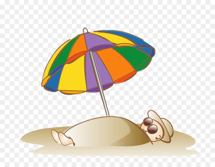 Картинка пляжный зонтик, день рождения