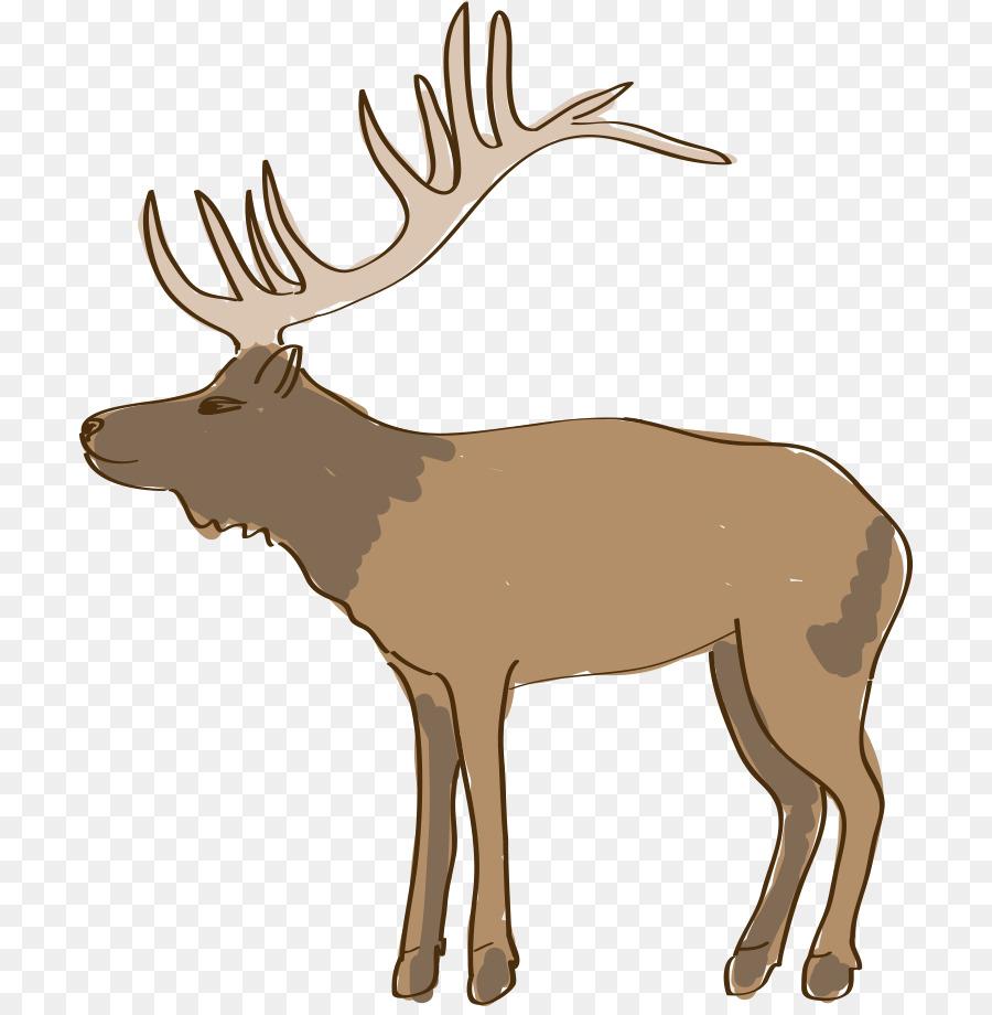 красная картинки северных оленях рисовать его можно