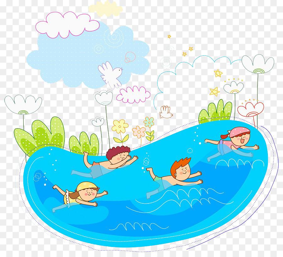 Картинки о летнем купании