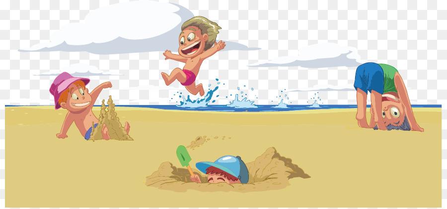 Пляж прикольные картинки рисованные
