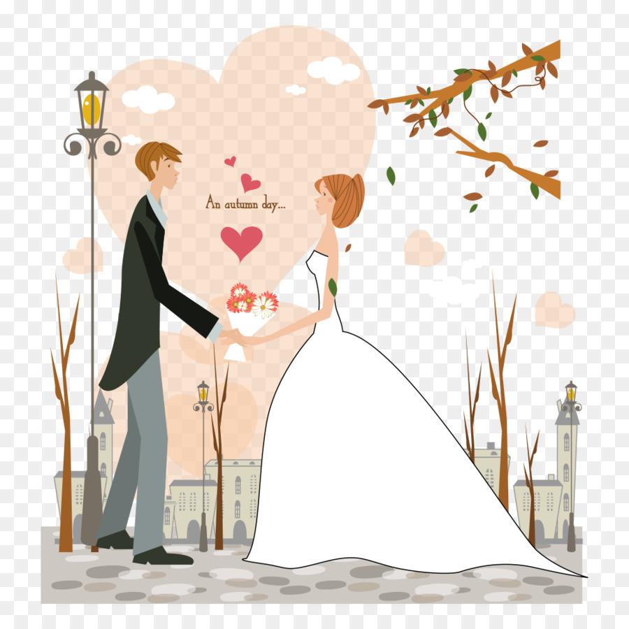 Рисованная картинка с днем свадьбы