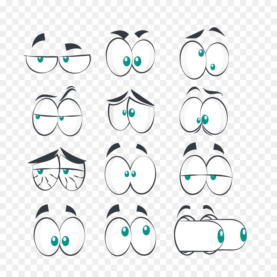 Для вставки, смешные мультяшные глаза картинки