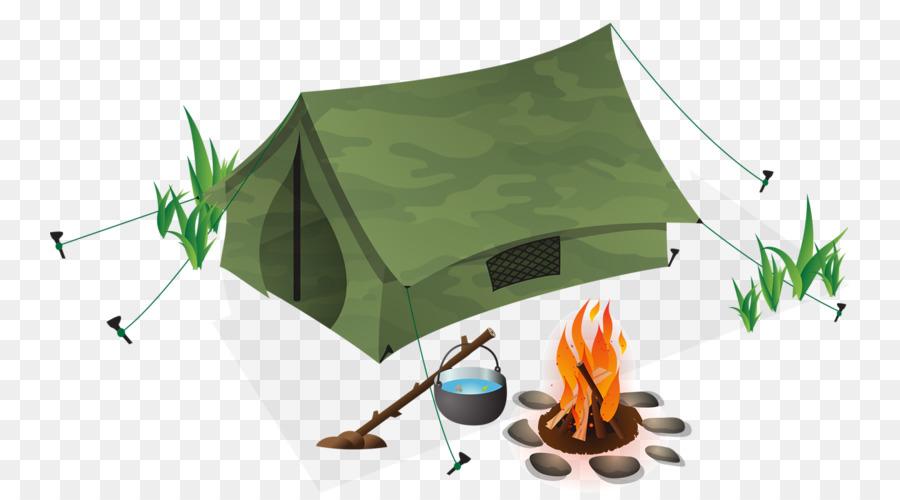 Рисованные картинки палатки костра