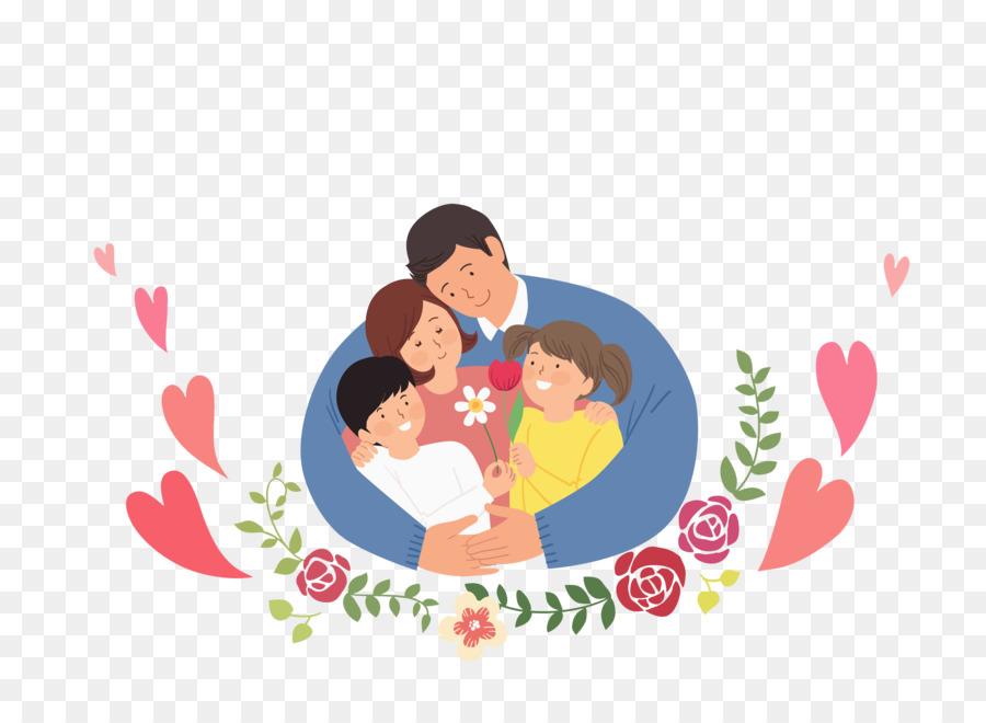 символичная картинка семья них каждая