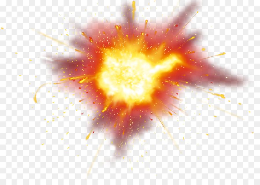Прозрачная картинка взрыва