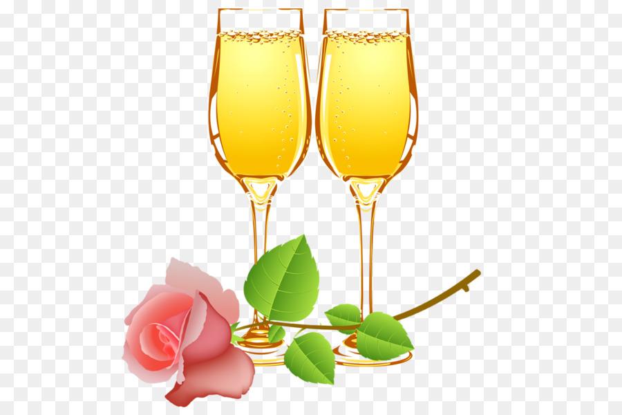 День, картинки бокалы с шампанским на прозрачном фоне