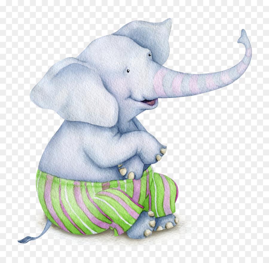 Про родину, слоник открытка