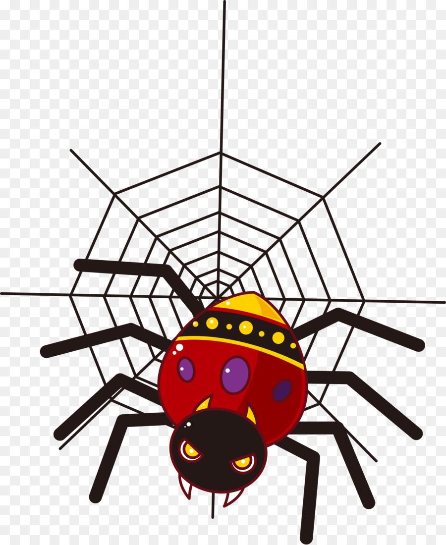 Картинки паука мультяшных