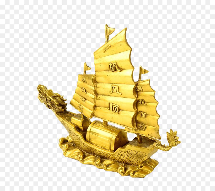 Картинки парусник с золотом