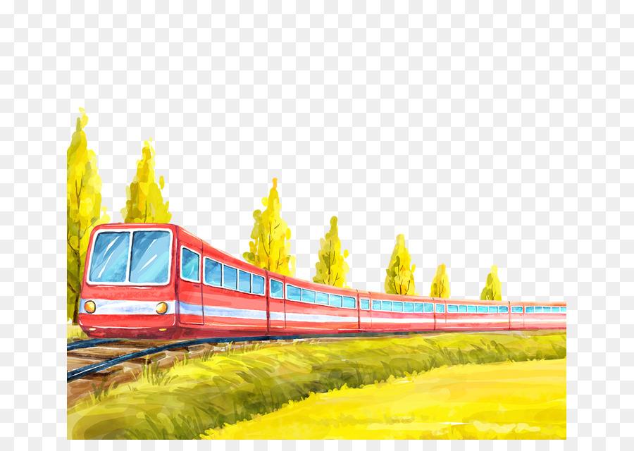 железная дорога картинка пнг нем