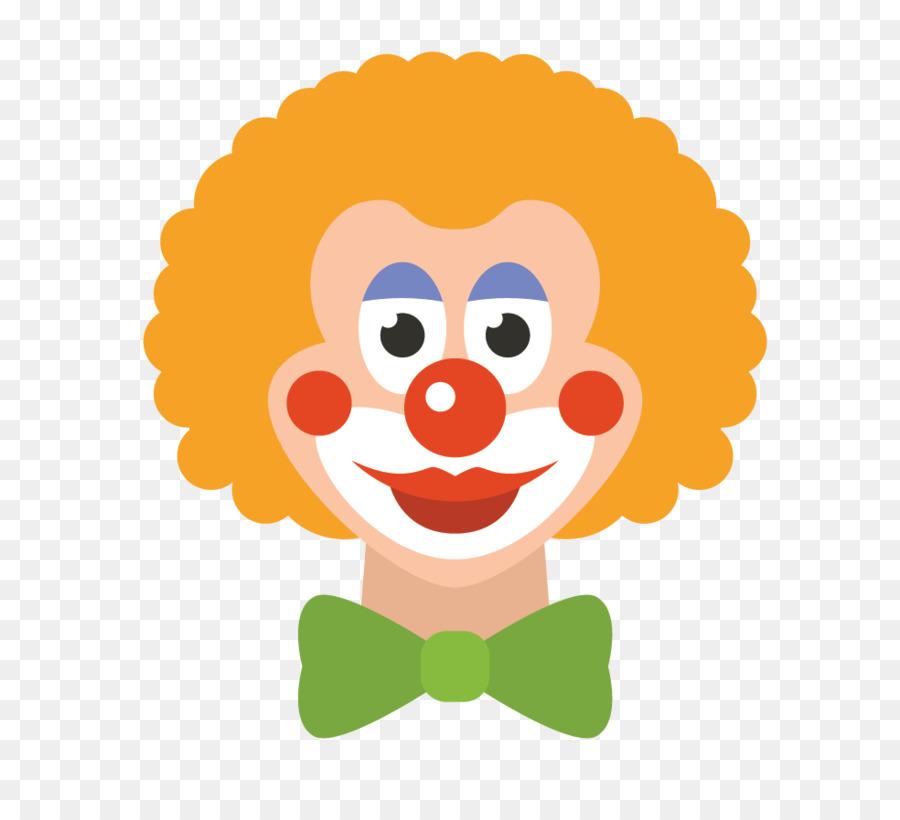 картинка лицо клоуна изготовления