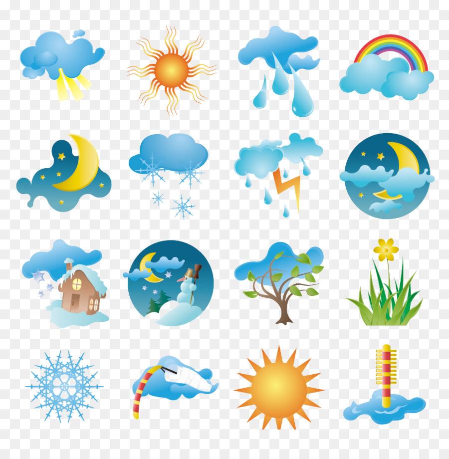 Рисунок погодных явлений