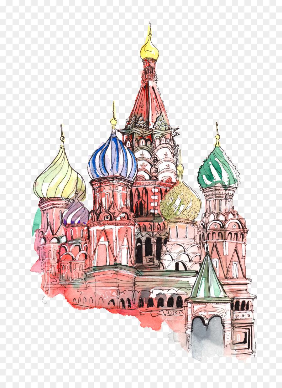 Московский кремль рисунки