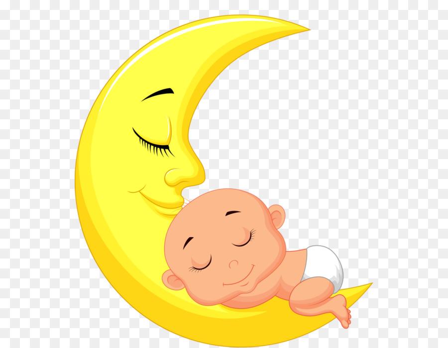 Картинка ребенок на луне
