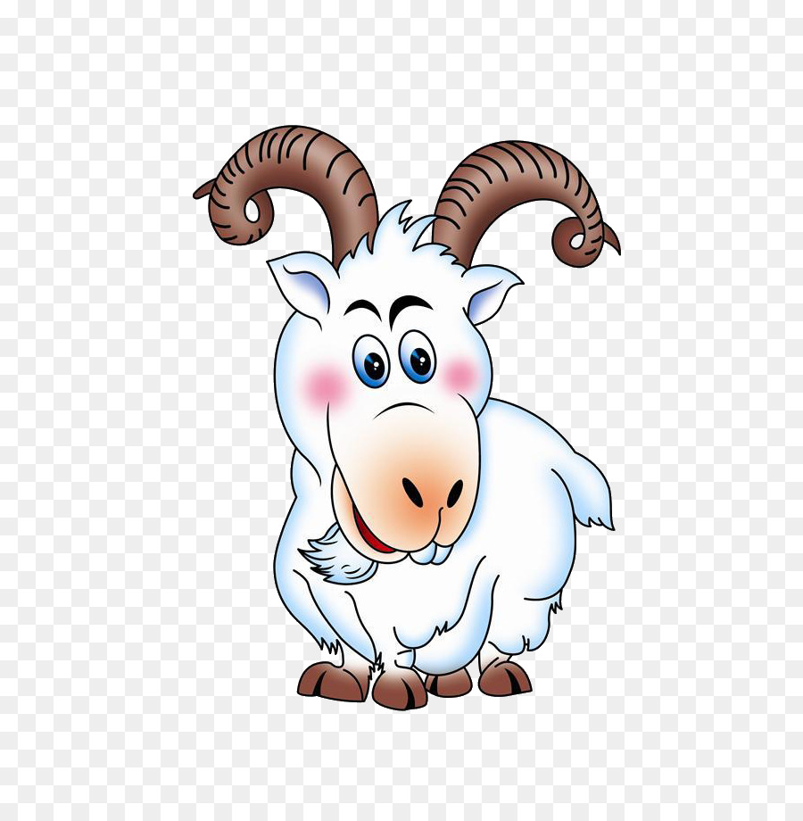Картинка козы мультяшки