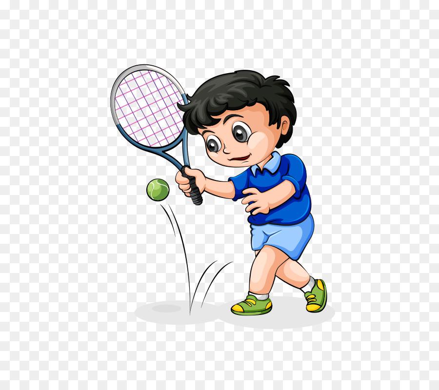 Детские картинки о теннисе