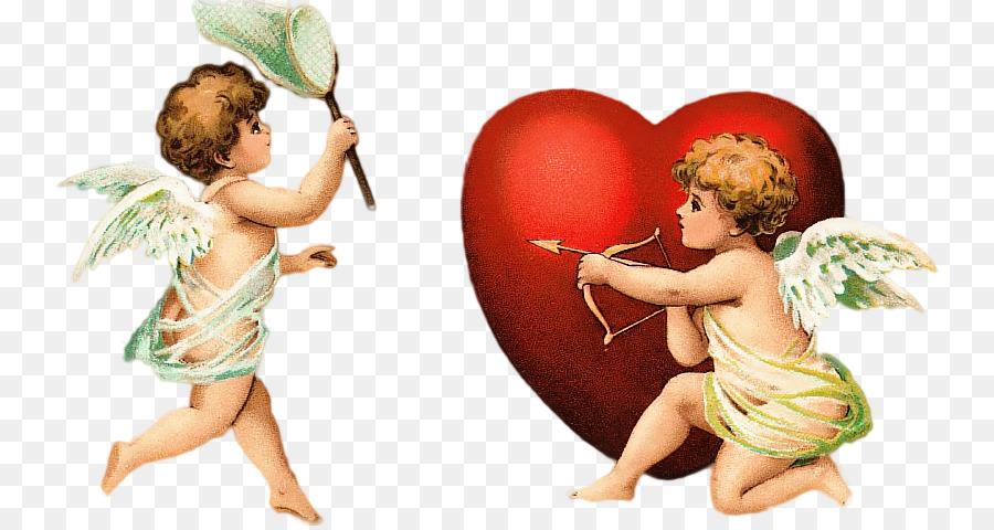 Амуры сердца картинки