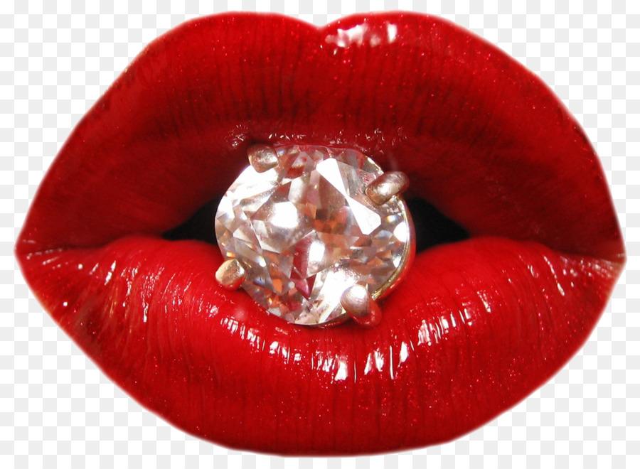 во рту бриллиант гламурное фото таких