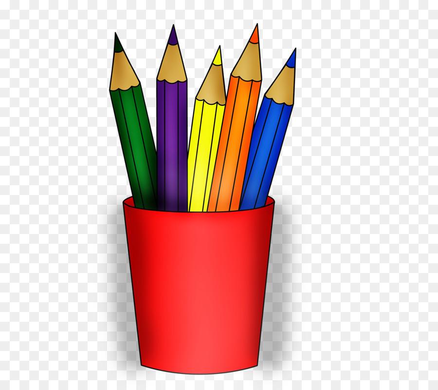 Картинка карандаши и кисти