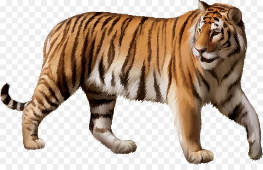 картинка тигр без фона летающие ещё
