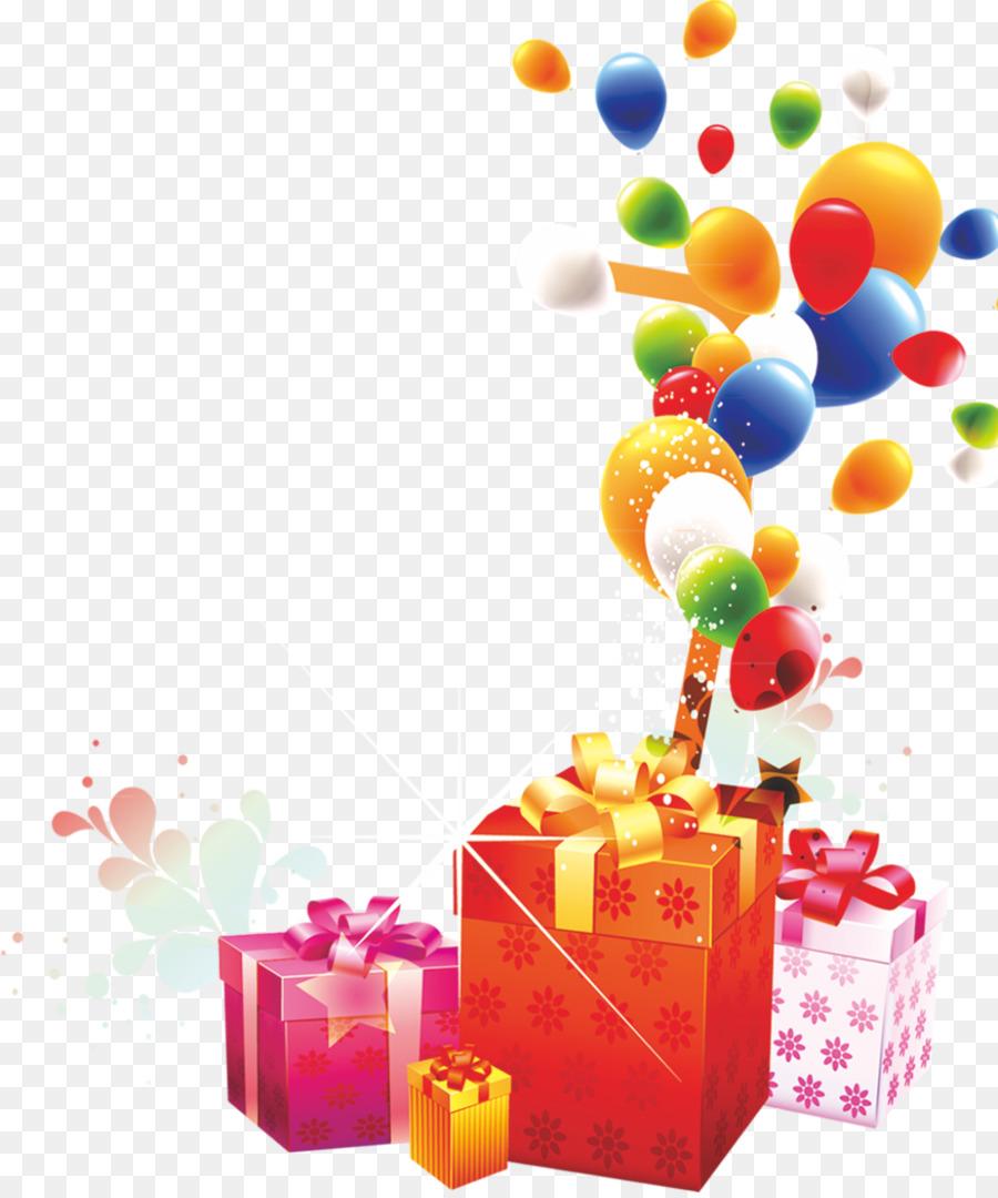 Днем, картинки с днем рождения с шариками и подарками