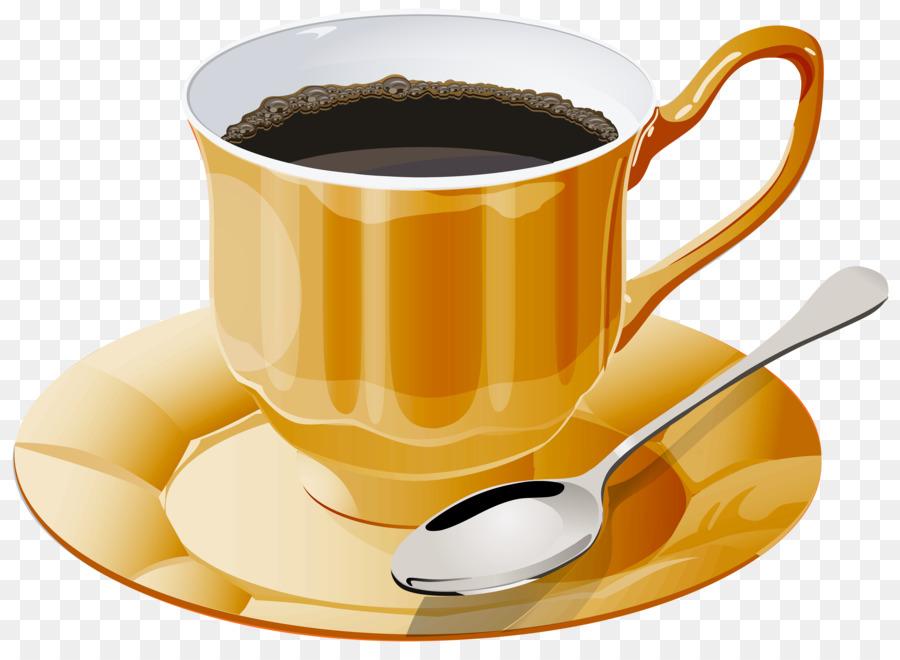 Наступившим новым, картинка чашки кофе на прозрачном фоне