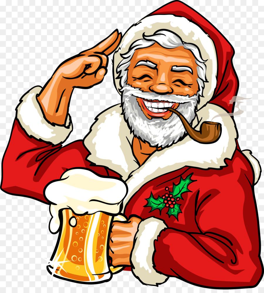 Пьяный дед мороз картинки мультяшные