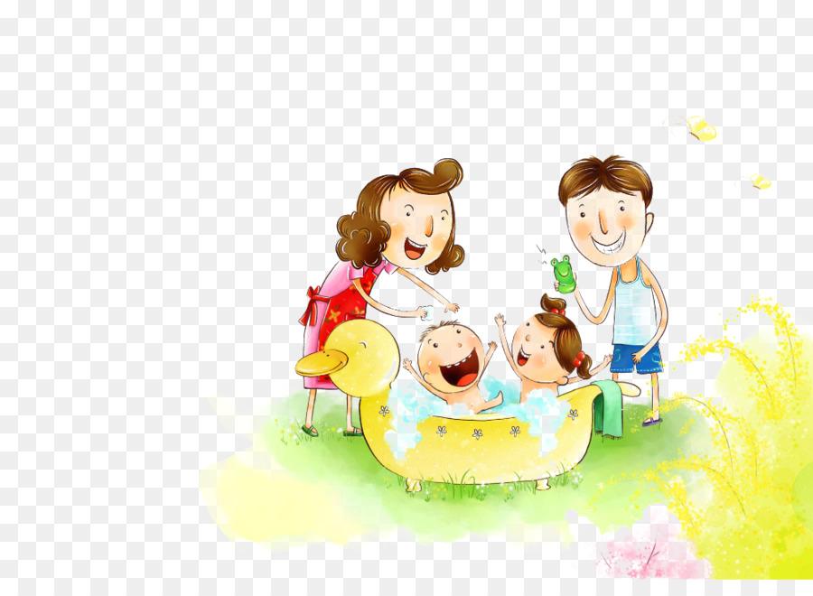 Картинка дети и родители счастливы рисунок, открытки