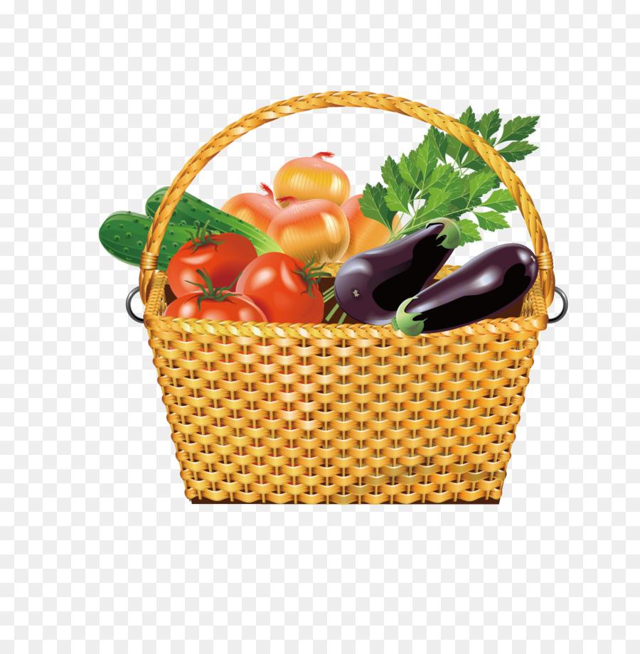 Корзинка овощей картинка