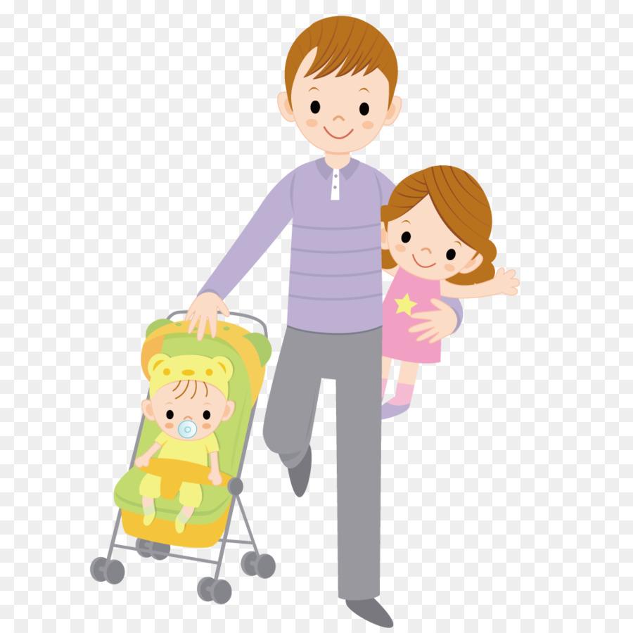 Папа и дети картинки для детей нарисованные
