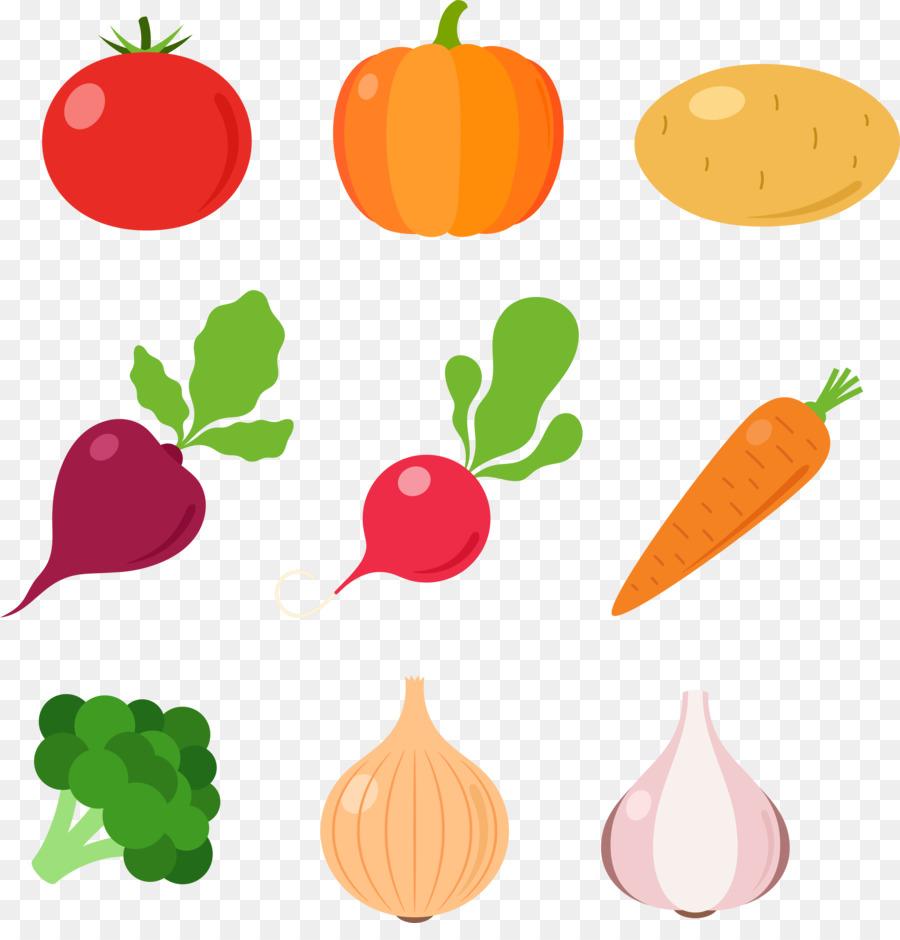 Овощи и фрукты вектор картинки