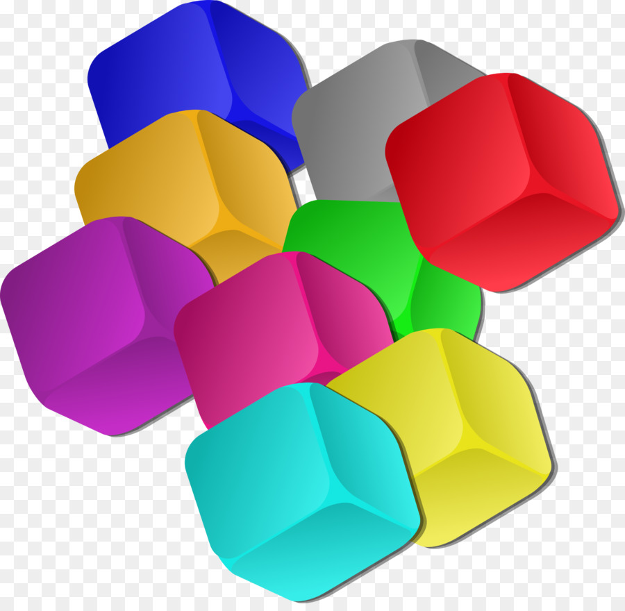 Цветные кубики в картинках