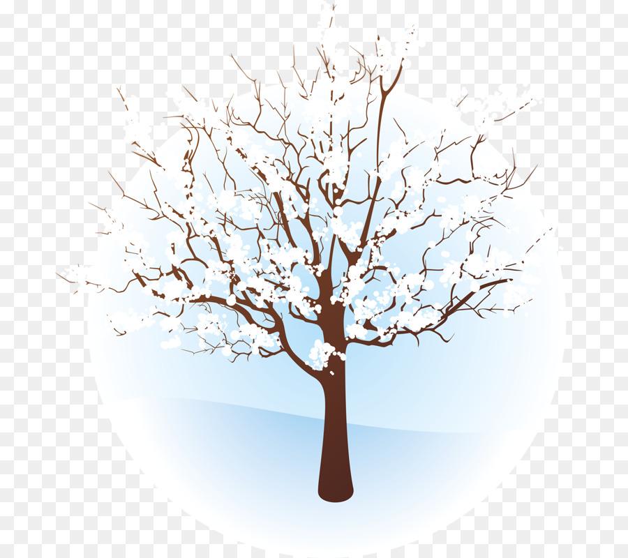 Зимнее дерево картинка рисунок