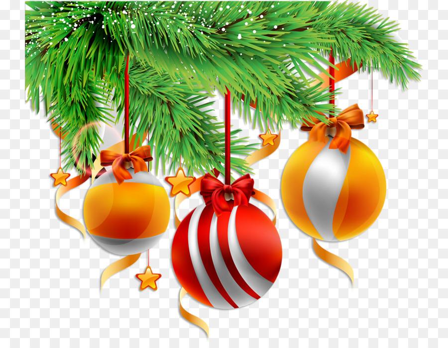 Новогодние шары на ветке картинка
