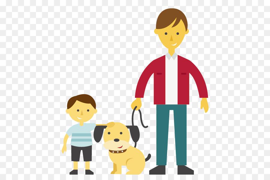 мультяшная картинка отец и сын человека иногда