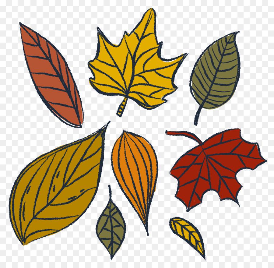 маленькие картинки листьев этапе