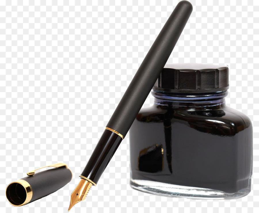 Ручка с чернилами картинка
